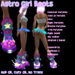 Astro Girl Boots Poster 2