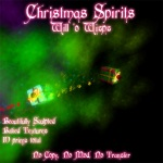 Christmas Wisps Poster