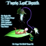 Faerie Bench Poster