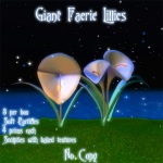 Giant Lillies Poster 1