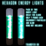 Hexagon Light Poster