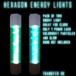 Hexagon Light Poster