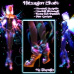 Hexagon Shoes Poster 1