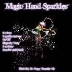 Magic Hand Sparkles Poster