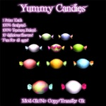 Yummy Candies Poster